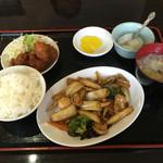 味雅軒 - 八宝菜定食 750円