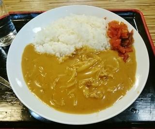 松月庵 - カレーライス 750円