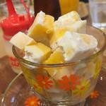 マンゴーカフェ 木の葉 - アイスケーキ
