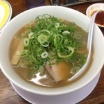 第一旭 - デラックスラーメン 麺固ネギ多め