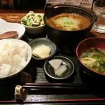 食い飲み屋 BUN - 牛スジ煮込み定食