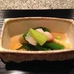 菅井 - 2016/5 夏野菜と海老
