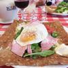 BISTRO Babylon - 料理写真:自家製ハムが入ったガレット・ジャンボン1200円。