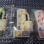 笹かまの郷 馬上かまぼこ店 本社 - 3種類