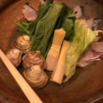 銀平 - 鰆、筍、蛤