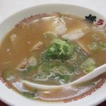 ラーメン横綱 - 料理写真:ラーメン650円は醤油豚骨