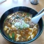 麺楽 - 料理写真:全とろマーボめん