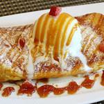 コット カフェ - 料理写真:当店絶対オススメ! プリフレ(プリンフレンチトースト) 他には無いプリンのようなふわとろフレンチトーストです!