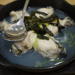 てっ平 - 牡蠣の酒蒸し~☆