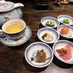 al bacio CHINA - ランチの小鉢
