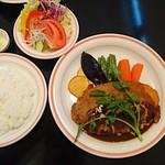 カフェレスト 日香木 - カツレツ定食