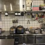 広州市場 - 厨房