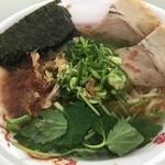 麺屋 卓朗商店 - 手火山式本枯れ節醤油らぁ麺(税込750円)