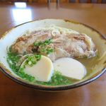 石垣島料理丸八 - 八重山ソーキそば 中(780円)