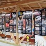 境港のさかな塾 - 旬のお魚パネルの展示