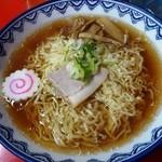 三忠食堂 - 中華そば600円