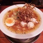 熟成細麺 宝屋 - すましラーメン