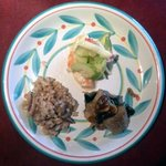 """5085415 - 世田谷""""いきましょうレストラン""""ブリフィックスコース前菜「デリ3種盛り合わせ」"""