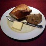 """いきましょうレストラン - 世田谷""""いきましょうレストラン""""ブリフィックスコースのパン横景"""
