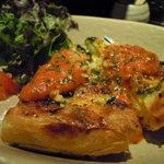 夕焼け飯店 - 豆腐のキッシュ Photo By PEPOPA