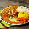 カオス スパイスダイナー - 料理写真:3種あいがけカレー