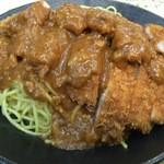 レストラン泉屋 - スパカツ大盛(890円+300円+税)