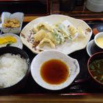 50850580 - 舞阪ハモの天ぷら定食 ¥1090