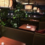 チーズ&BBQビアガーデン なんば湊町リバーカフェ - ロフトソファ席は2名様から最大12名様!