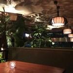 チーズ&BBQビアガーデン なんば湊町リバーカフェ - 一番人気のロフトボックスソファ席♪