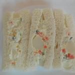 とんかつ まい泉 - ポテサラサンド