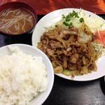 50851487 - 焼肉定食 別名神定食