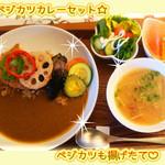 菜食健美 - ベジカツカレーセット