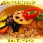 菜食健美 - ベジカツカレー
