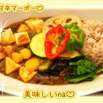 菜食健美 - ベジ麻婆丼