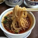 陳麻婆豆腐 - H28.5月 人気セットの担々麺