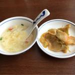 陳麻婆豆腐 - H28.5月 人気セットのスープと搾菜