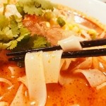 50856584 - ビーフン麺(平打ち太麺)もっちもち