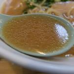 かしわ屋 - スープ