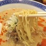 えびす飯店 - 半坦々麺リフトアップ