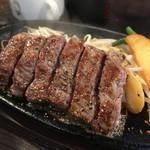 1ポンドのステーキハンバーグ タケル - 日替わりランプステーキ