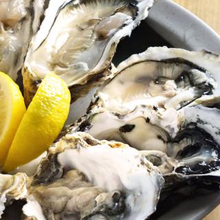 日本全国から取り寄せた鮮度の良い生牡蠣をご用意!!