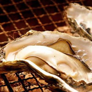 名物!絶品の焼牡蠣は是非お召し上がりください。