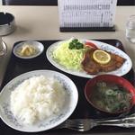 ふじみ食堂 - ポークソテーセット 950円