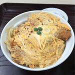 ふじみ食堂 - グリーピースのカツ丼