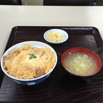 ふじみ食堂 - カツ丼