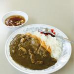 ふじみ食堂 - カツカレー  800円