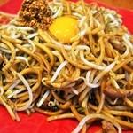 バソキ屋 - 料理写真:Bランチ(辛玉焼そば)