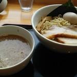 麺家 一鶴 - 特製つけ麺。