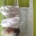 トラスパレンテ - 2016年4月:パンを5点購入して760円でした