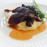 指帆亭 - 茨城かすみ鴨もも肉のコンフィ